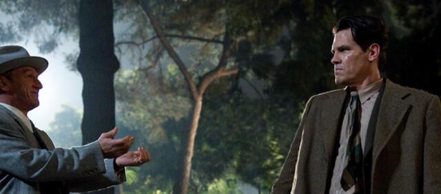 Josh Brolin stellt Bösewicht Sean Penn in Gangster Squad