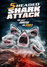 5-Headed Shark Attack - Poster