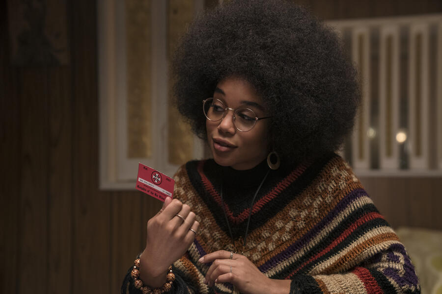 BlacKkKlansman mit Laura Harrier