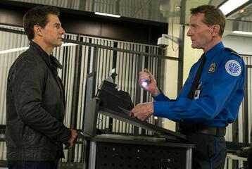 Tom Cruise und Lee Child in Jack Reacher 2