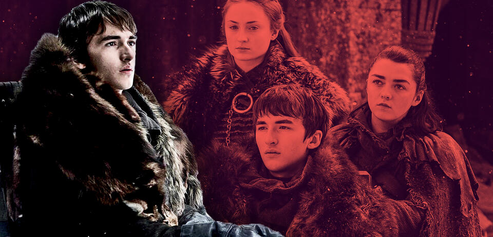 Isaac Hempstead-Wright als Bran Stark in Game of Thrones