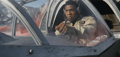 John Boyega in Star Wars: Episode VIII - Die letzten Jedi
