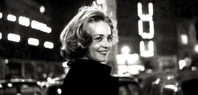 Jeanne Moreau in Fahrstuhl zum Schafott (1958)