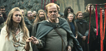 Barbaren: Thusnelda mit Vater Segestes