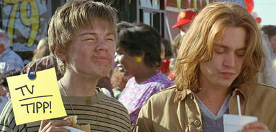 Leonardo DiCaprio und Johnny Depp in Gilbert Grape