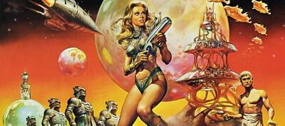 Boobs in Space: 1968 war Jane Fonda Barbarella - Queen of the Galaxy.