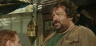 Bud Spencer in Das Krokodil und sein Nilpferd