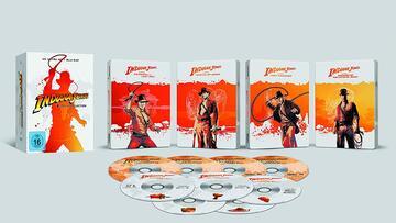 Indiana Jones-Collection in 4K-Steelbooks