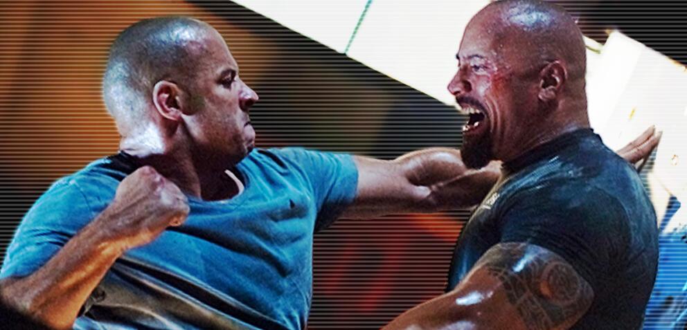 Fast and Furious: Vin Diesel und Dwayne Johnson im offenen Schlagabtausch