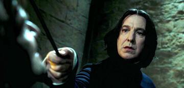 Alan Rickman als Severus Snape in Harry Potter
