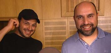 Bild zu:  Kaya und Serdar im Tonstudio