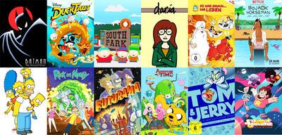 Die besten Animationsserien
