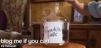 "Paradise Fall Jar in ""Oben"""