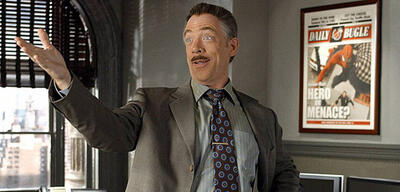 J.K. Simmons in Spider-Man 2