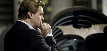 Bild zu:  Nolan am Set von The Dark Knight