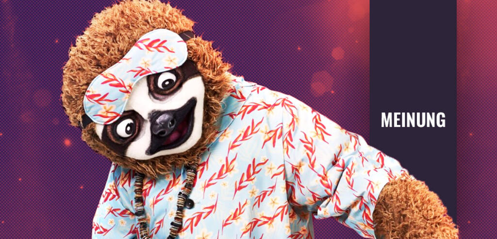 The Masked Singer: Das Faultier