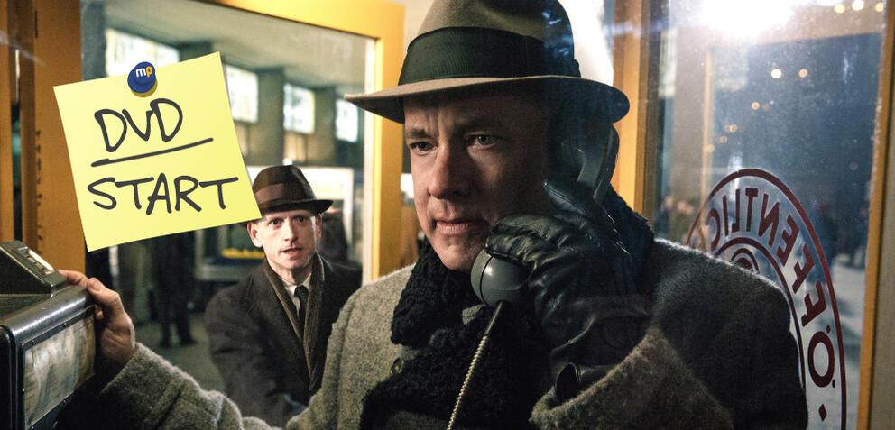 Tom Hanks in Bridge of Spies - Der Unterhändler neu auf DVD und Blu-ray
