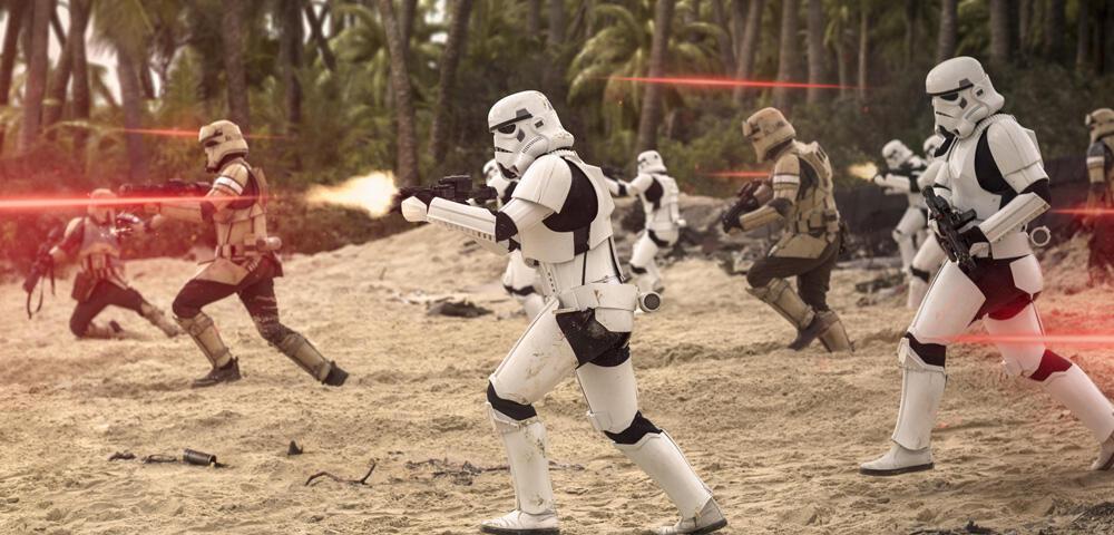 Gewinnt einen Stormtrooper mit Gillette und Rogue One