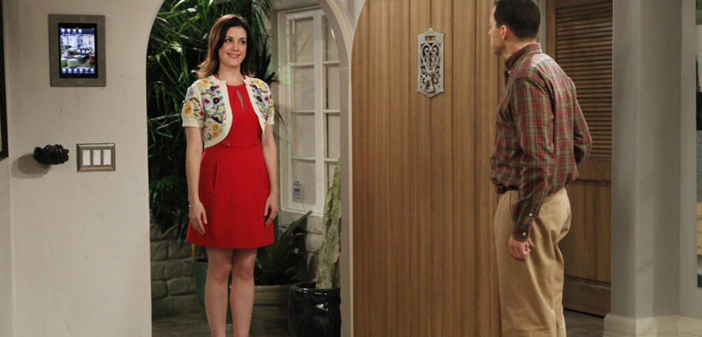 Melanie Lynskey in Two and a Half Men