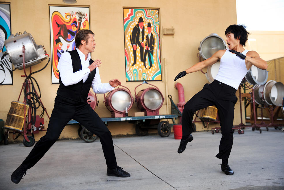Once Upon a Time ... in Hollywood mit Brad Pitt und Mike Moh