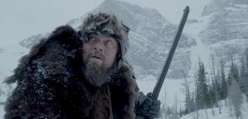 Bild zu:  Leonardo DiCaprio in The Revenant