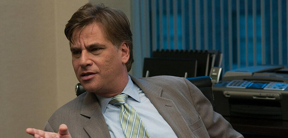 Aaron Sorkin in The Social Network
