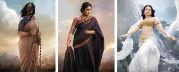 Anushka Shetty, Ramya Krishna und Tamannah Bhatia (v.l.n.r.).