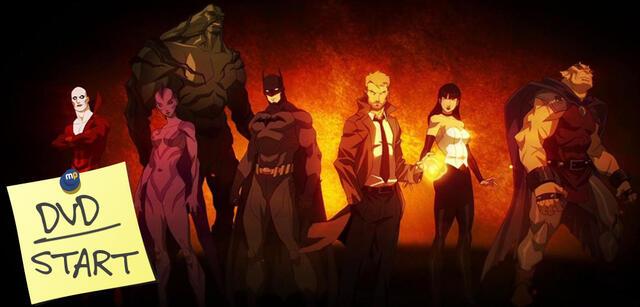 Justice League Dark jetzt auf DVD und Blu-ray