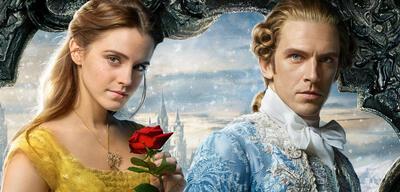 Emma Watson und Dan Stevens als Die Schöne und das Biest