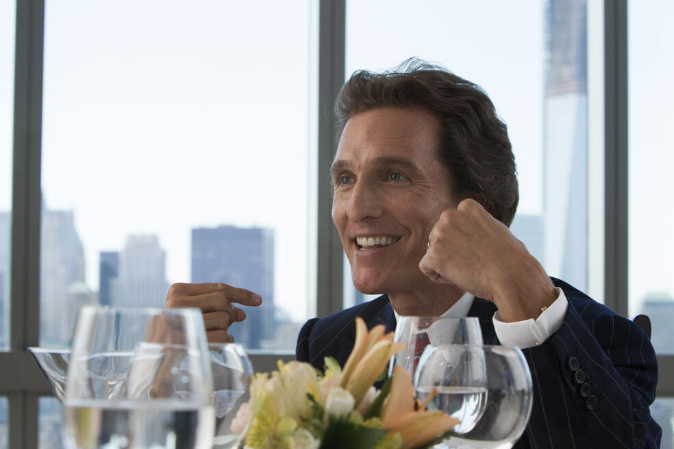 The Wolf of Wall Street mit Matthew McConaughey