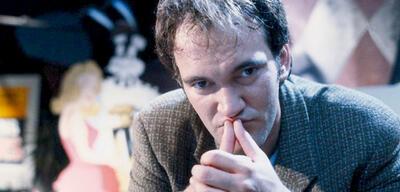 Da schienen noch alle Kostüm-Oscars möglich: Quentin Tarantino am Set von Pulp Fiction