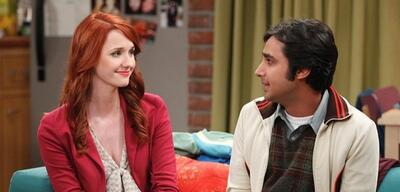 Emily und Raj in The Big Bang Theory