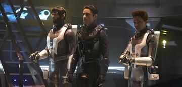 Spock, Gant und Burnham auf dem Section 31-Schiff