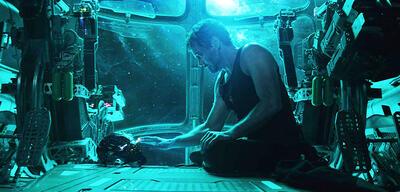 Tony im All in Avengers 4: Endgame