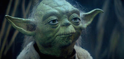 Yoda in Star Wars
