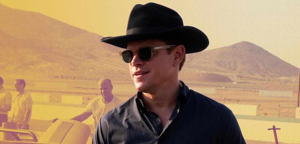 Matt Damon in Le Man 66