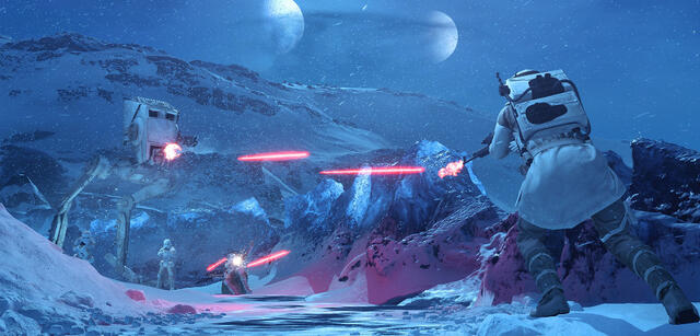 Die neue Star Wars: Battlefront-Map Twilight on Hoth