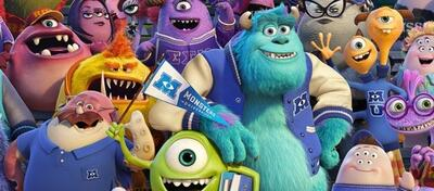Monster Uni ganz im Trend, mit einem Vollgestopften Poster