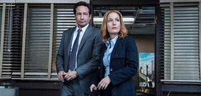 Mulder und Scully auf der Spur eines mysteriösen Mörders