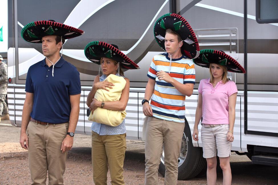 Wir sind die Millers mit Emma Roberts, Jason Sudeikis und Will Poulter