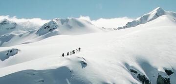 Schneeberge in Der Herr der Ringe: Die Gefährten
