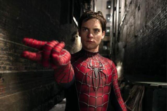 Tobey Maguire als Spider-Man