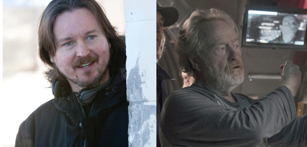 Matt Reeves und Ridley Scott