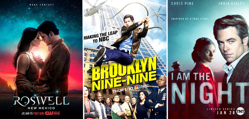 Roswell, New Mexico, Brooklyn Nine-Nine, I Am the Night