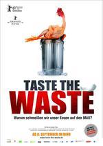 Taste the Waste Poster