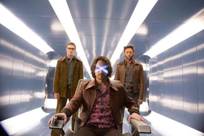 X-Men: Zukunft ist Vergangenheit mit Hugh Jackman und James McAvoy