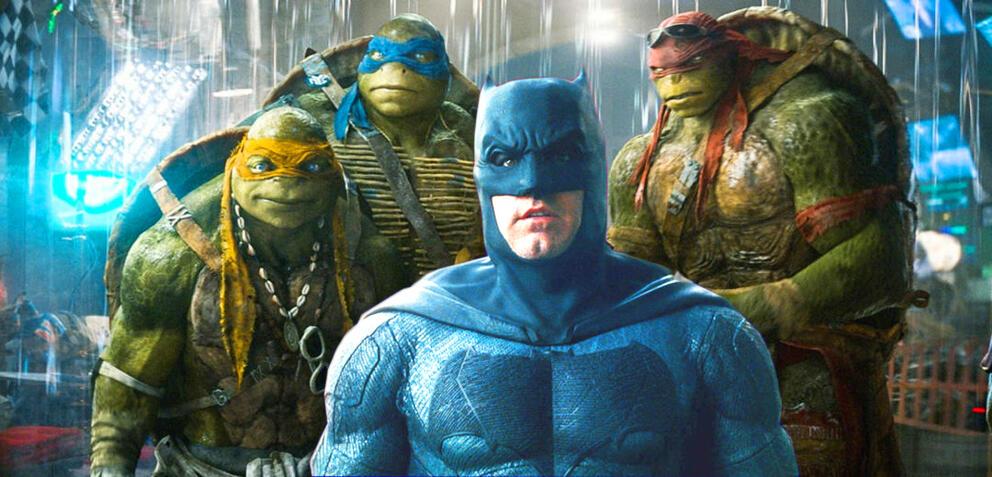 Batman und die Turtles