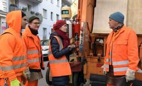 Die Drei von der Müllabfuhr - Dörte muss weg mit Uwe Ochsenknecht, Inez Bjørg David, Daniel Rodic, Jörn Hentschel und Rainer Strecker - Bild 14