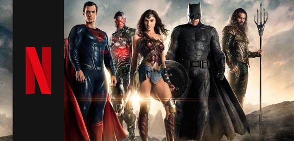 Justice League bei Netflix