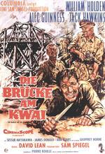 Die Brücke am Kwai Poster